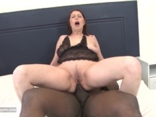 Interracial hardcore mature as...